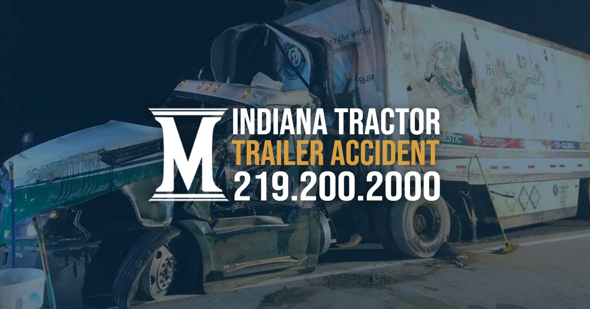 Indiana Tractor Trailer Accident
