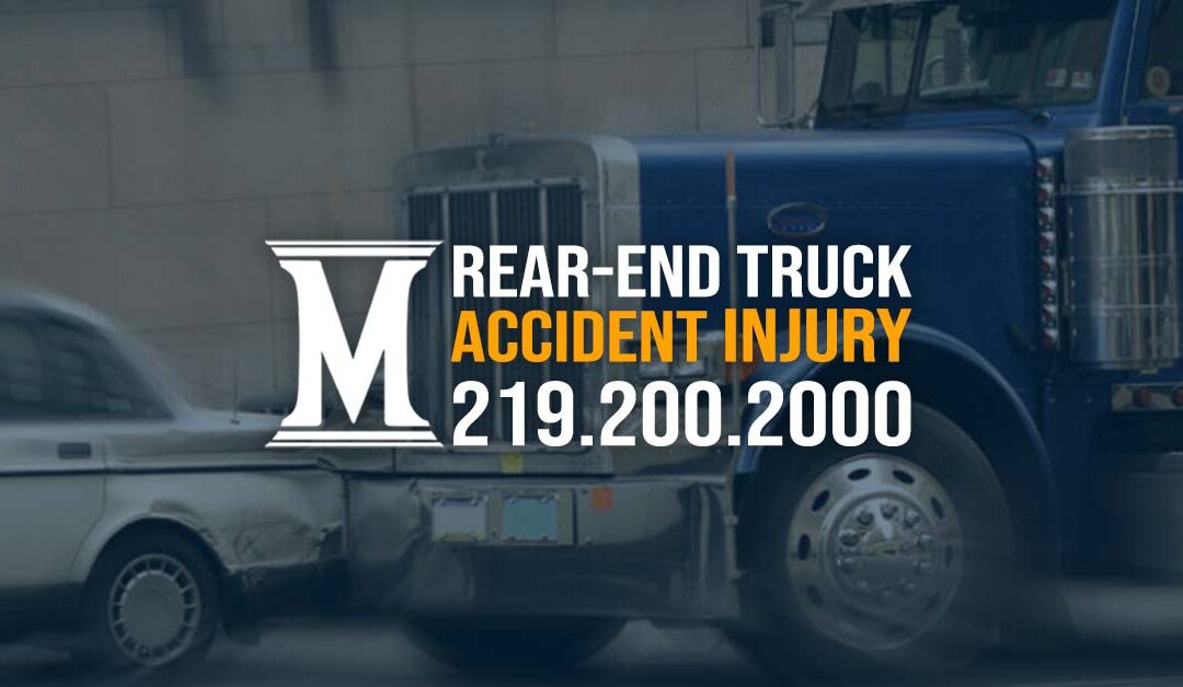 Rear-End Truck Accident