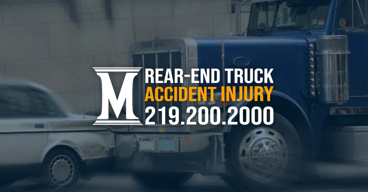 rear end truck accident